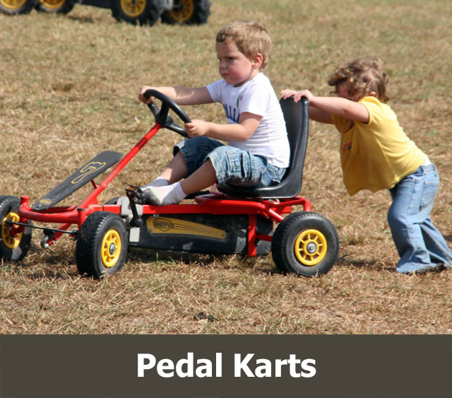 Things to Do Virginia: Pedal Karts